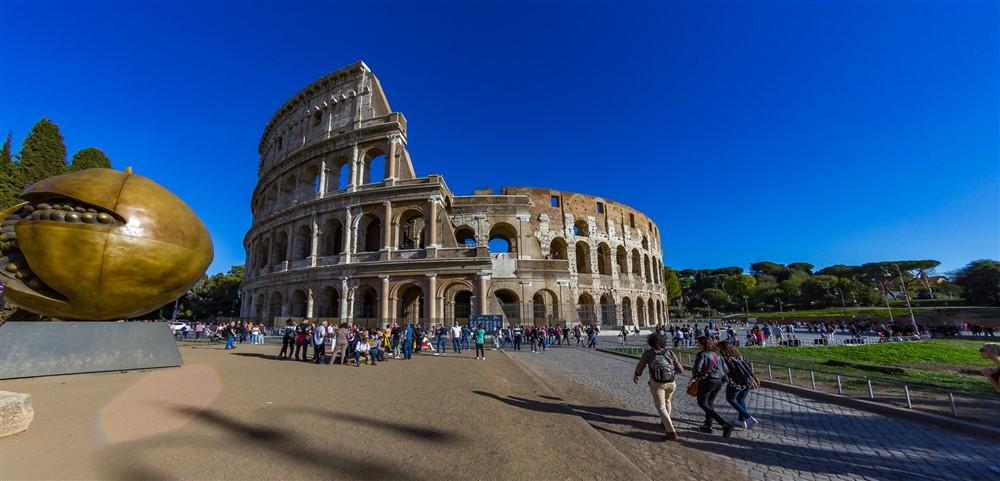 Római látnivalók - A Colosseum