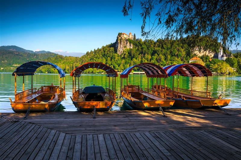 Pletnák a Bledi-tónál