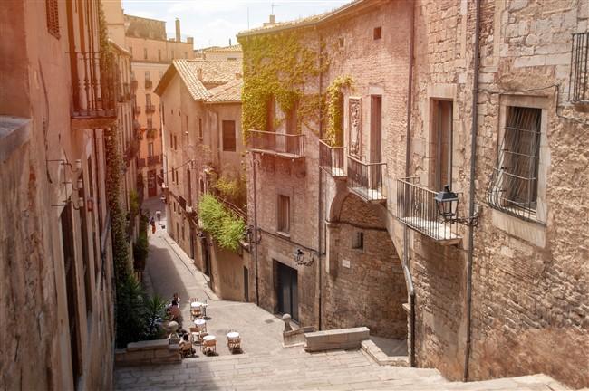 Girona, a Costa Brava népszerű települése