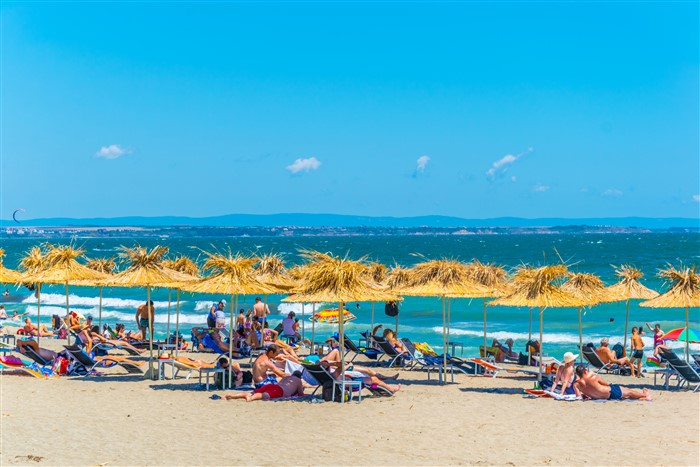 Napospart - Burgasz tengerpartja