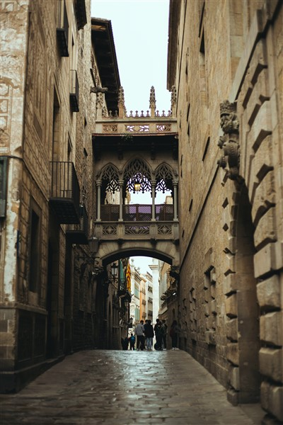 Barcelona gótikus negyede