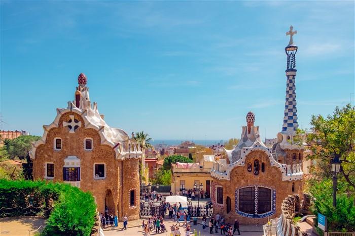 A Güell-park, Barcelona egyik fő látnivalója