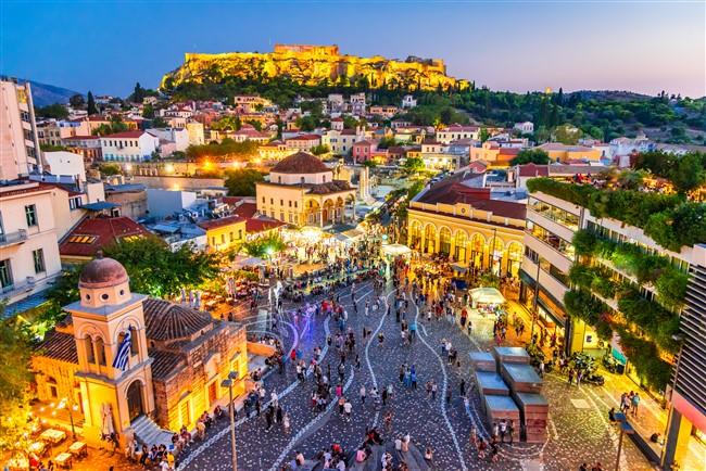 Athént történelme is a legszebb európai városok közé emeli