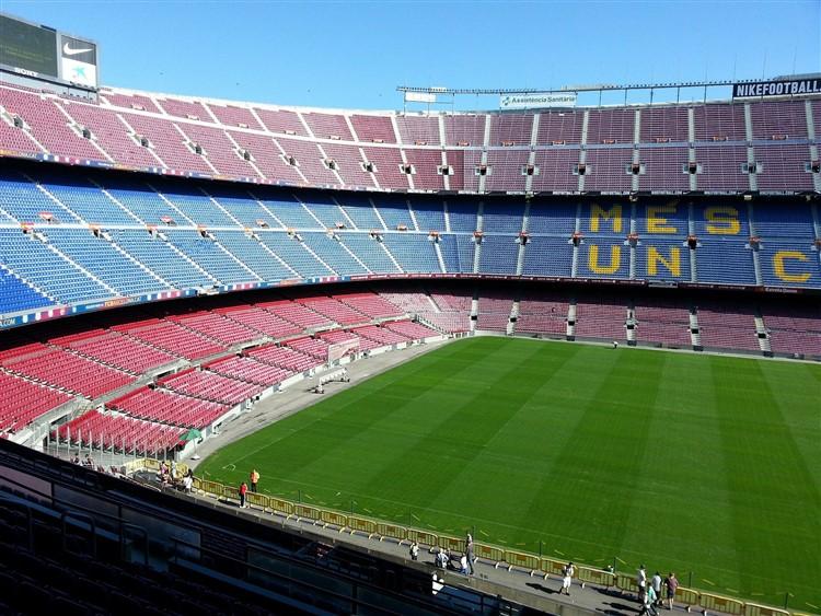 A Camp Nou stadion Barcelona egyik fő látnivalója, nem csak fociszurkolóknak.