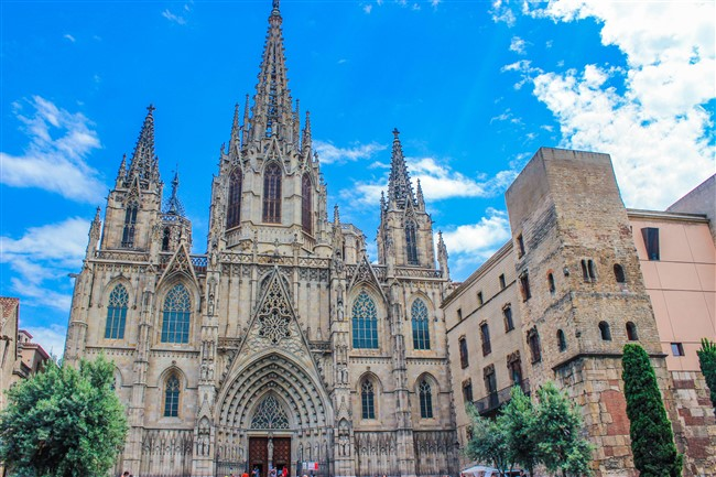 A Sagrada Familia Barcelonában