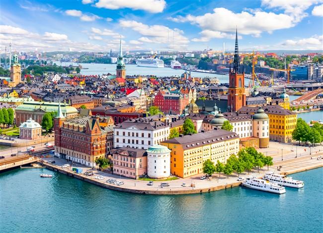 Stockholm madártávlatból