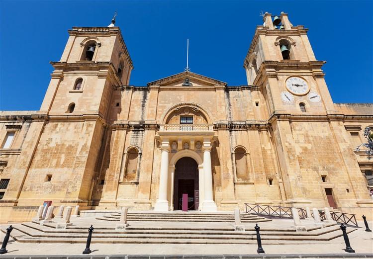Egy a számos máltai látnivaló közül: a Szent János-társkatedrális Vallettán