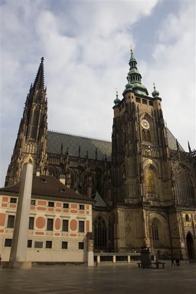 A Szent Vitus-székesegyház Prágában