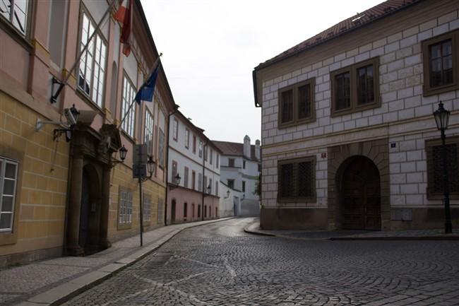 A Várnegyed Prága egyik fő nevezetessége